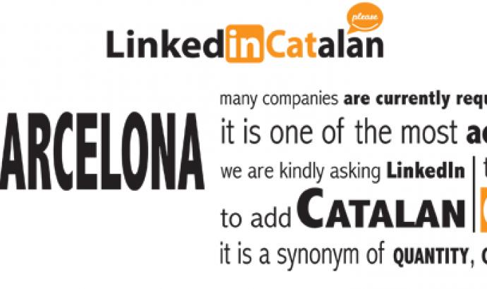 Campanya LinkedInCatalan de la Fundació puntCAT Font: