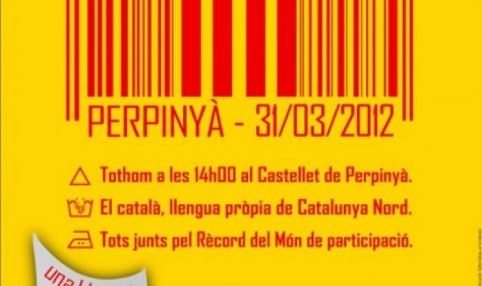 """""""Lip dub"""" per la llengua catalana a Perpinyà Font:"""