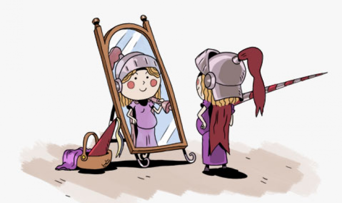 De princesa a cavallera Font: Fundació IReS