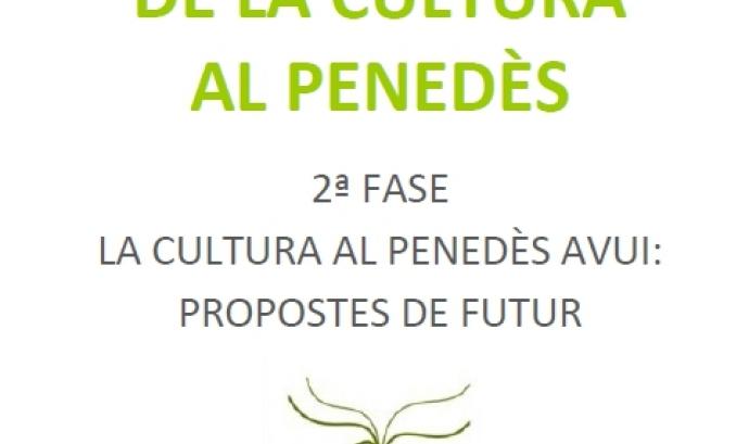 Imatge de la portada del Llibre Blanc de la Cultura al Penedès
