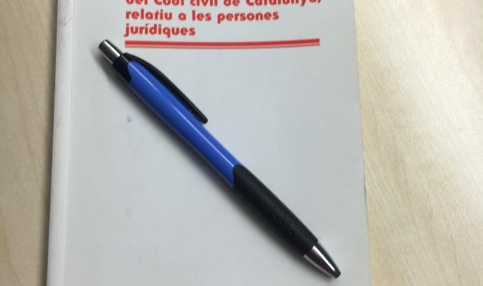 Llibre Codi civil de Catalunya. Font: Suport Associatiu  Font: