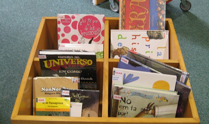 Llibres infantils. Font: Biblioteca Pública Octavi Viader i Margarit (flickr) Font: