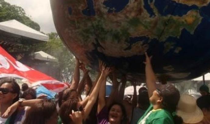Lluita pagesa. Foto de l'ASAC Font: