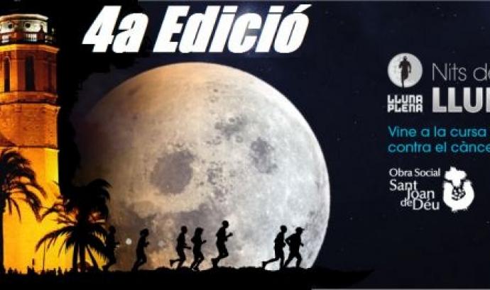 Cartell Cursa LLuna Plena a Sitges. Font: llunaplenasitges