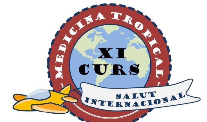 Logotip de l'11è Curs de Medicina Tropical i Salut Internacional de Lleida