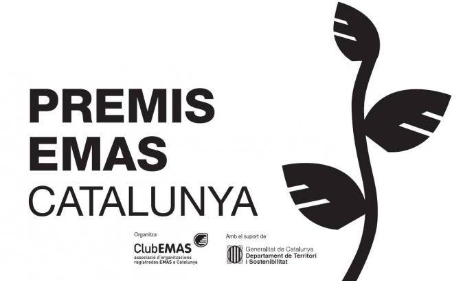 Logotip dels Premis EMAS Catalunya. Font: Club Emas