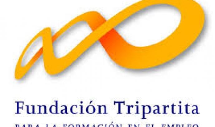 Logotip Fundación Tripartita.Font web Fundación Tripartita