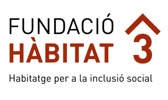 Logo habitat 3. Font. web habitat3.cat Font:
