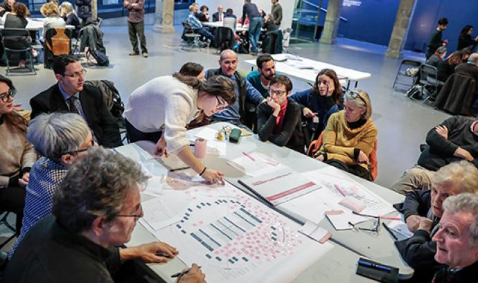 Sessions participatives del procés cooperatiu de les Rambles Font: Ajuntament de Barcelona