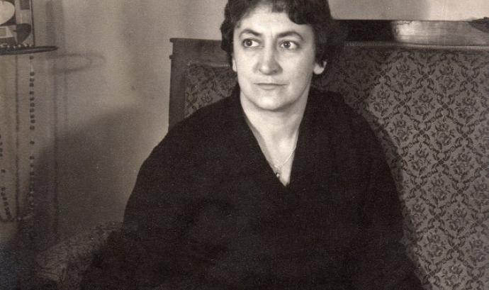 La genial escriptora Maria Aurèlia Capmany