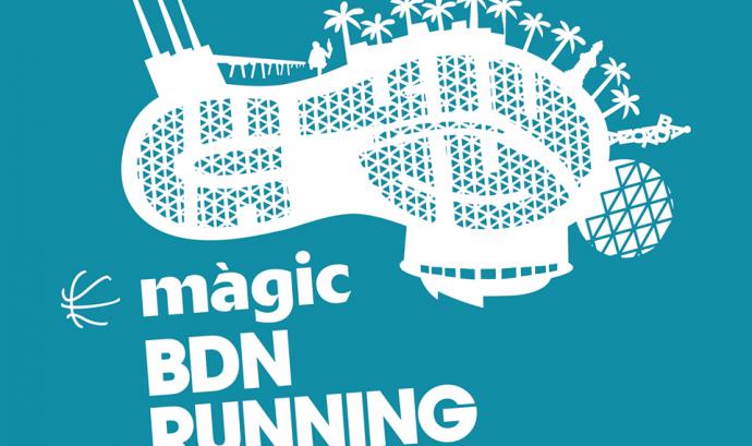 El logotip de la Màgic BDN Running. Font: Màgic BCN Running