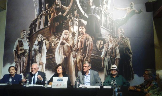 """Presentació de la reestrena de """"Mar i Cel"""" al Teatre Victòria (foto: FAC) Font:"""