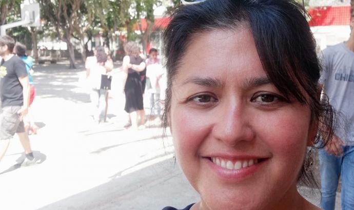 Marcela Sancristóbal, psicòloga familiar i infantil de la cooperativa de salut COS Font: Marcela Sancristóbal