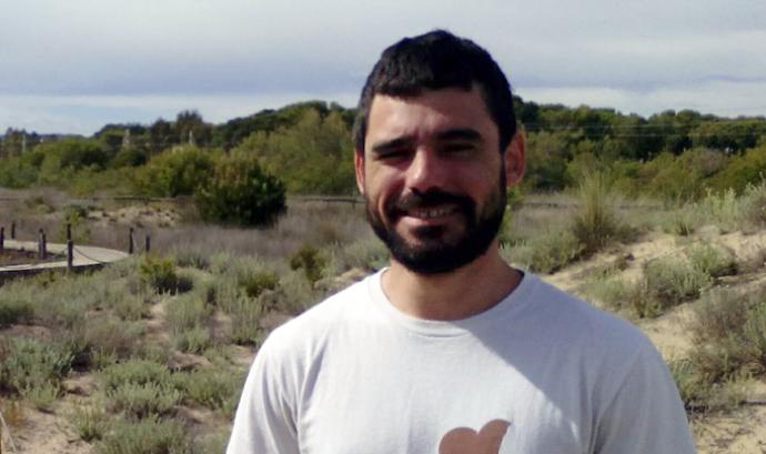 Marc Torrents, tècnic de projectes de GEPEC - Ecologistes de Catalunya Font: GEPEC - Ecologistes de Catalunya