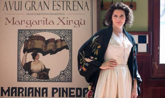 """Laia Marull interpreta el paper de """"La Xirgu"""". Font:"""