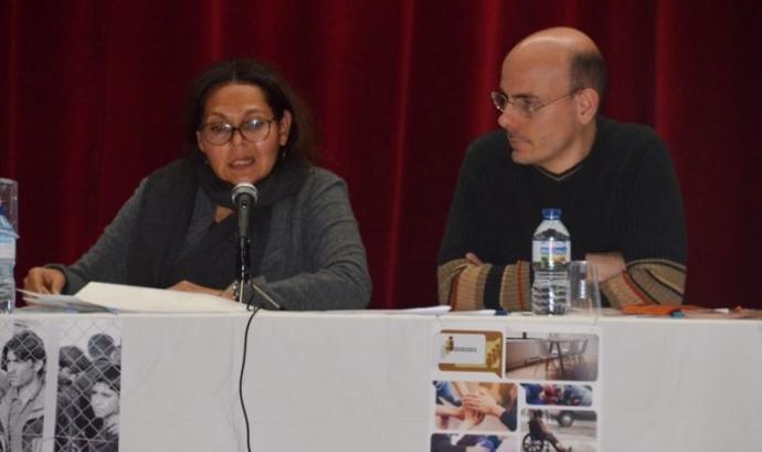 La Margarita García a la seva ponència del 9 de novembre Font: Martorell.cat