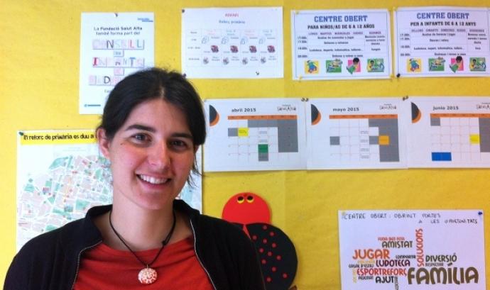 La Maria Nadeu és la directora de la Fundació Salut Alta de Badalona.  Font: