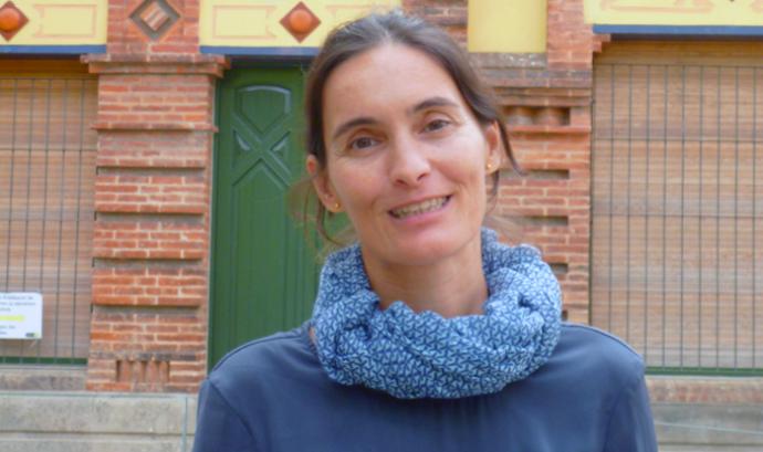 Maria Garcia, portaveu de la Plataforma per la Qualitat de l'Aire Font: Plataforma de la Qualitat de l'Aire