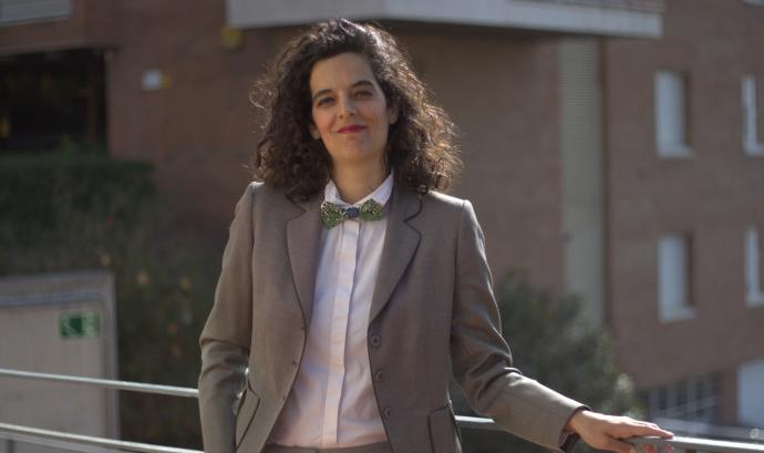 Marta Busquets Gallego, presidenta de Dona Llum, Associació Catalana per un Part Respectat. Font: Marta Busquets Gallego