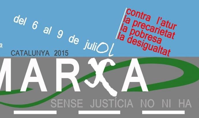 III Marxa per una Catalunya sense atur, precarietat, pobresa i desigualtats Font: