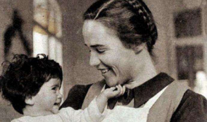 visita guiada al museu de la Maternitat d'Elna.