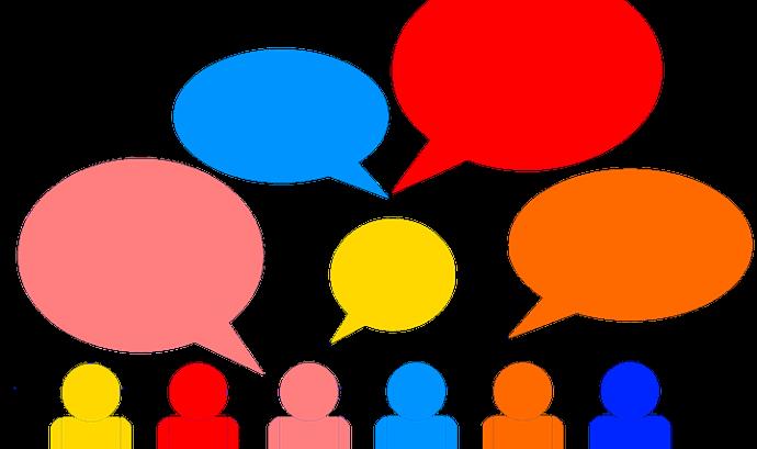 Cuidem que les intervencions siguin breus, clares i ordenades. Font: Pixabay