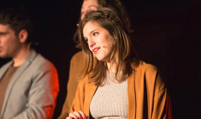 Magalí Sare del Quartet Mèlt en el VEUS del 2017