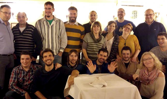 Foto de grup de components de Softcatalà