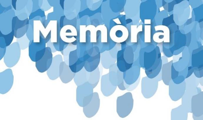La memòria de la entitat. Font: