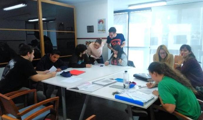 Projecte de mentoria dut a terme per aquesta fundació l'any 2015 Font: