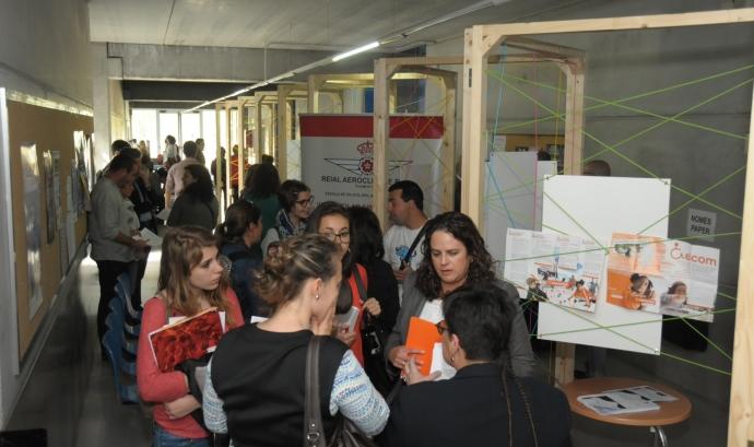Mercat de Projectes Socials a la URV (Font: URV)