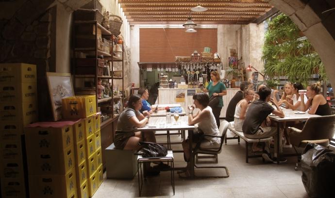L'interior de l'Espai Mescladís (Santi Palacios) Font: Santi Palacios