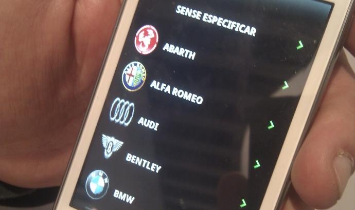 Amb l'app es poden controlar les zones d'estacionament Font: