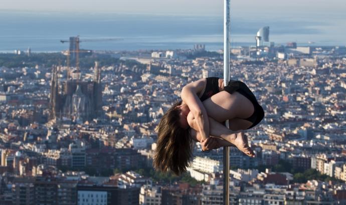 Mini Martí, la responsable del taller de dansa a la presó de dones de Barcelona. Font: Eli Mora Photography Font:
