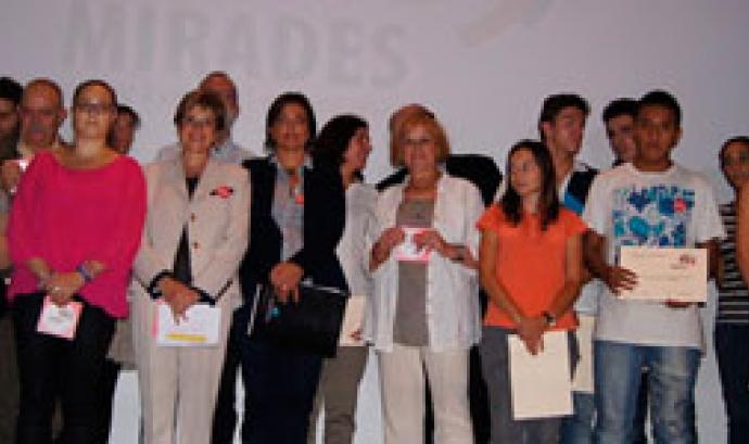 Reconeixement als alumnes participants del projecte Mirades