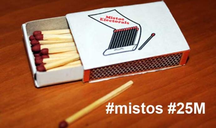 Imatge de la Campanya #mistos #25M de SOS Racisme Catalunya