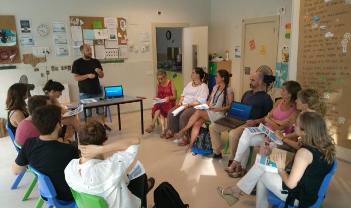 Primera reunió amb mentors i mentores interessades