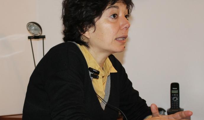 Mònica Timón, psicòloga i presidenta de l'associació Pandora.