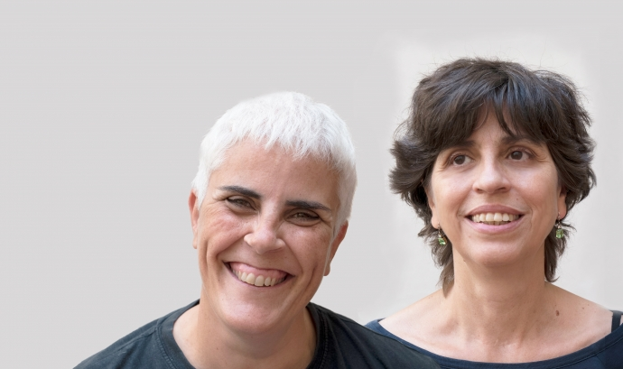 Montse Pineda i MLuisa Garcia_Creación Positiva Font: Fabiola Llanos