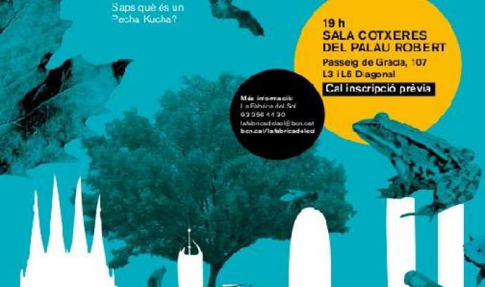 """Cartell de la """"Mostra d'iniciatives per la biodiversitat"""""""