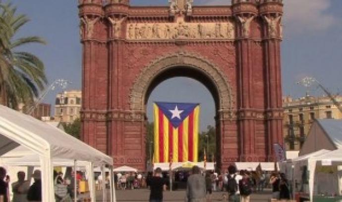 Mostra d'Entitats 11 setembre Font: Racó Català