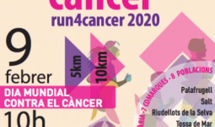 Cartell del 'Mou-te pel càncer' 2020. Font: Fundació Oncolliga Girona