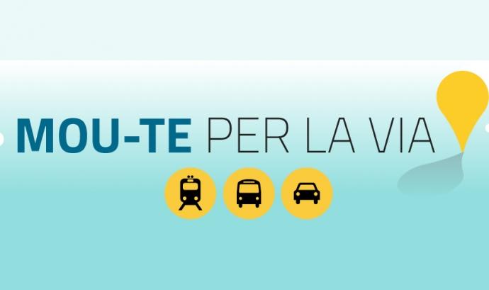 Moute per la Via Catalana, 11 de setembre de 2013 Font: