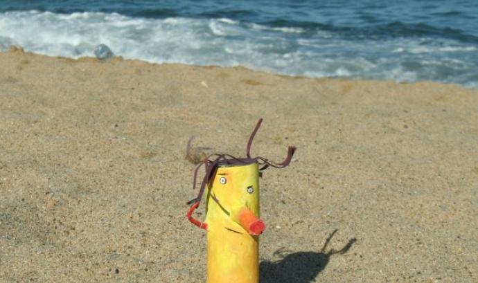 Mumo a la platja Font: