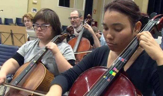 Activitat musical en el marc del programa 'Apropa Cultura' Font: Grup Cooperatiu TEB