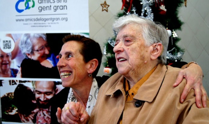 Dinar de Nadal d'Amics de la Gent Gran a Barcelona
