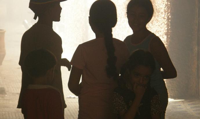Nens a contrallum - Archangeldeb - Flickr Font:
