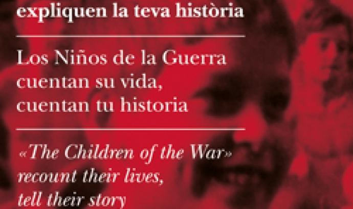 Cartell exposició els nens de la guerra