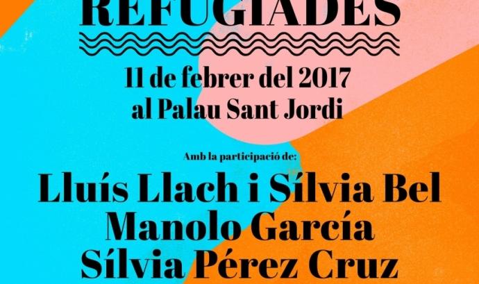 El cartell amb els primers artistes confirmats. Font: Casa nostra, casa vostra Font: