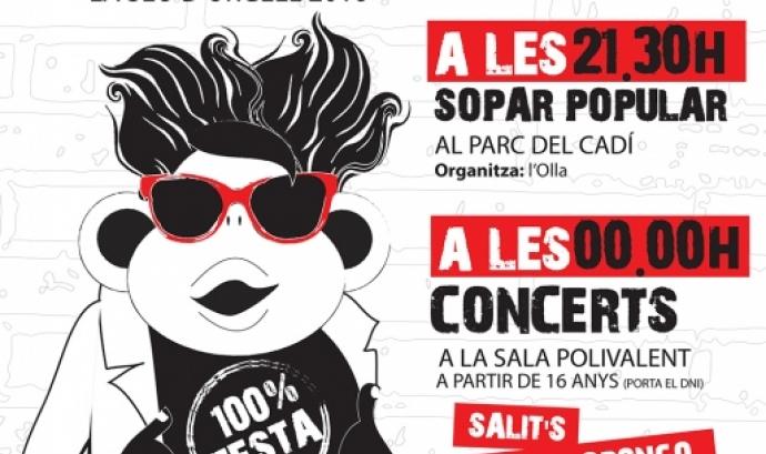 Cartell concerts nit jove Seu d'Urgell